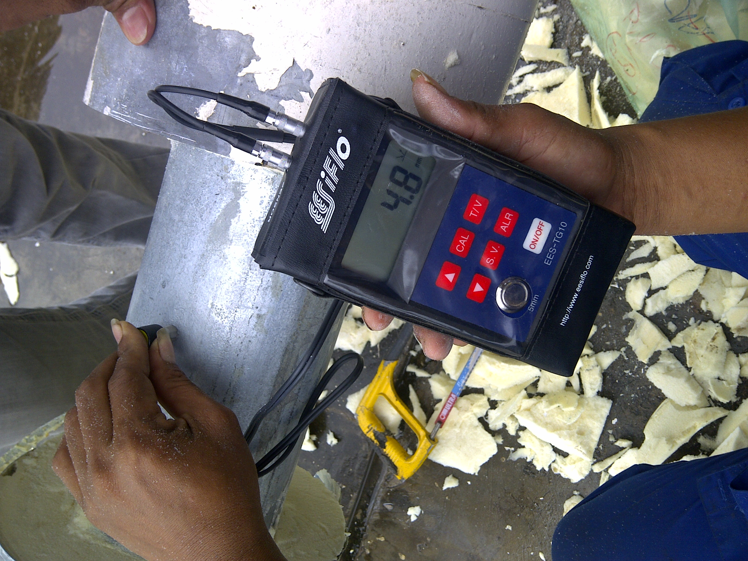 Pipe Thickness Measurement